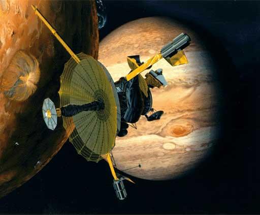 Artwork of NASA's Galileo Spacecraft