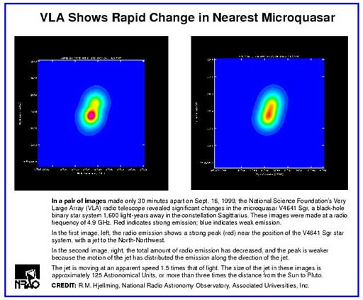 Microquasar V4641 Sgr