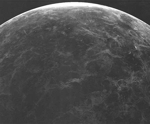 Arecibo-GBT radar image of Venus