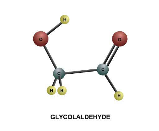 Model of the Glycolaldehyde Molecule