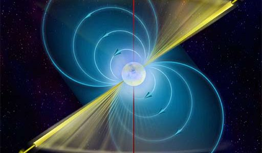 Infographic of a Pulsar