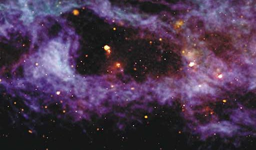 Cosmic Bubble Image Wins NRAO Contest