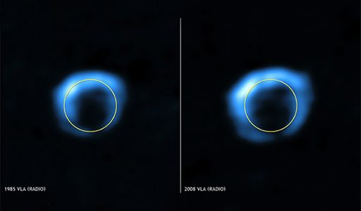 Youngest Stellar Explosion in Our Galaxy Discovered
