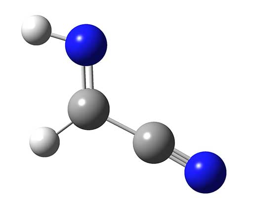Structure of cyanomethanimine