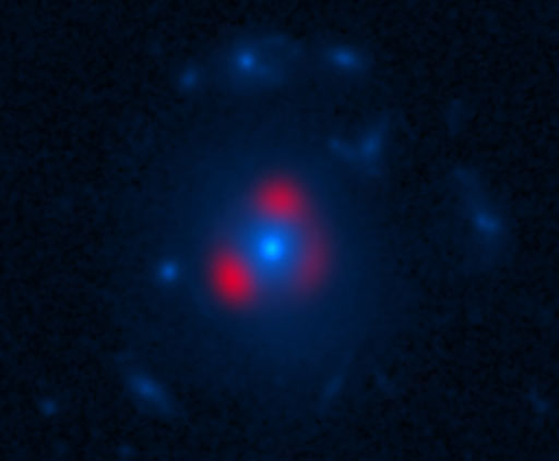 South Pole Telescope-discovered galaxy observed by ALMA and Hubble Space Telescope