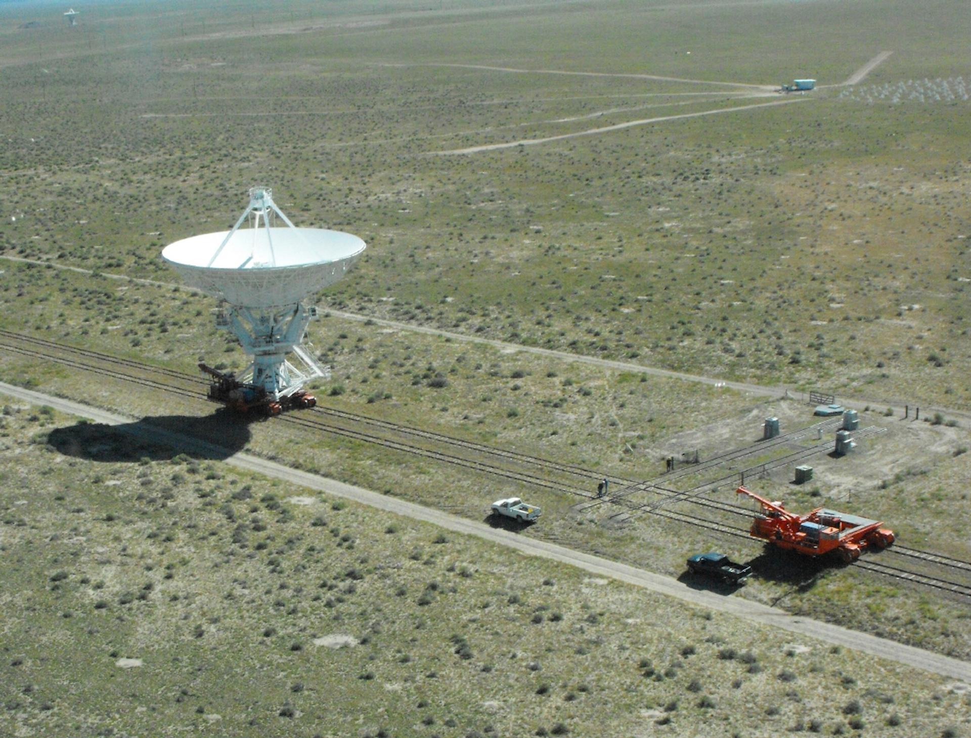 Antenna Move at the VLA
