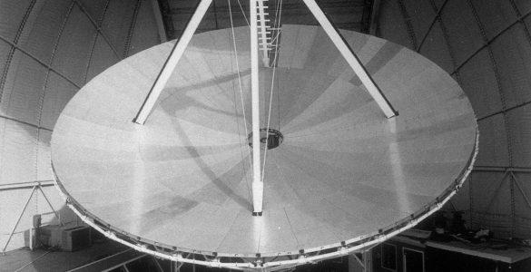 Green Bank's 12-meter Telescope