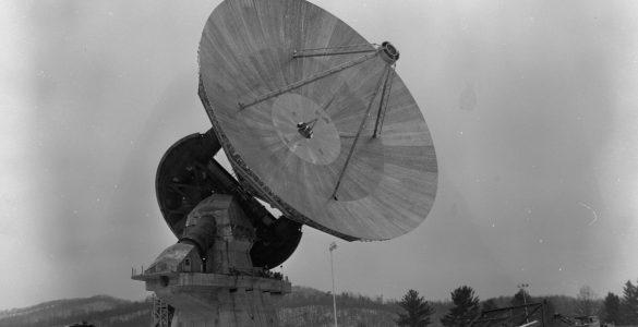 140-foot telescope in 1965