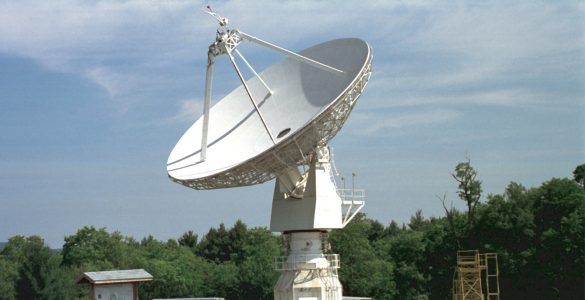 The first radio telescope used for Education