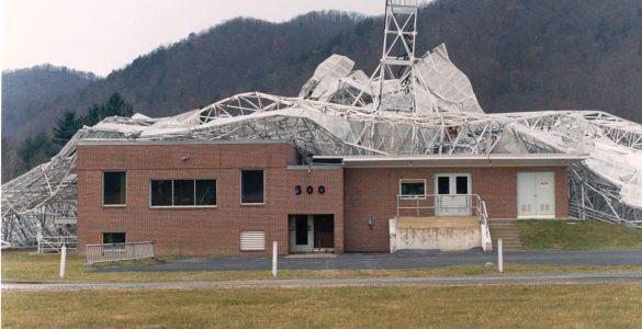 300-foot pierces its control building
