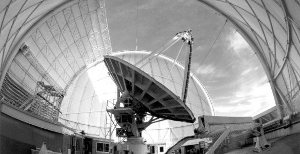 The 36-foot telescope on Kitt Peak, Arizona