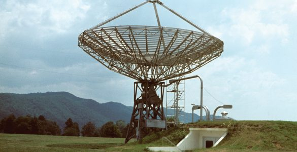 World's First Automated Radio Telescope