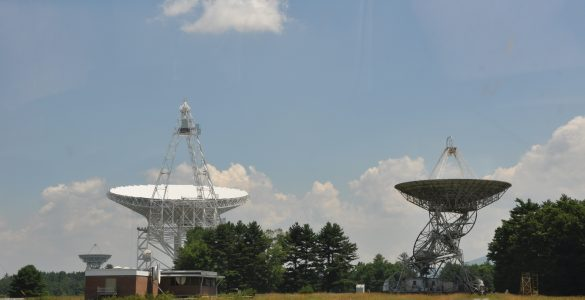 85-foot telescope and GBT