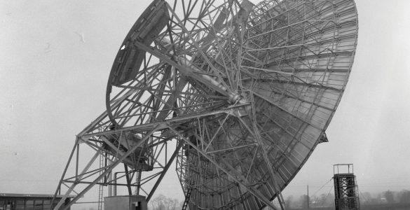 First 85-foot telescope