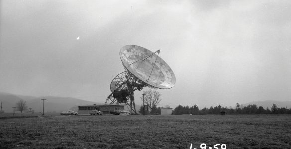 NRAO's first telescope; completed