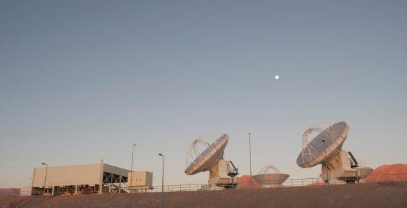 Twilight at the ALMA OSF