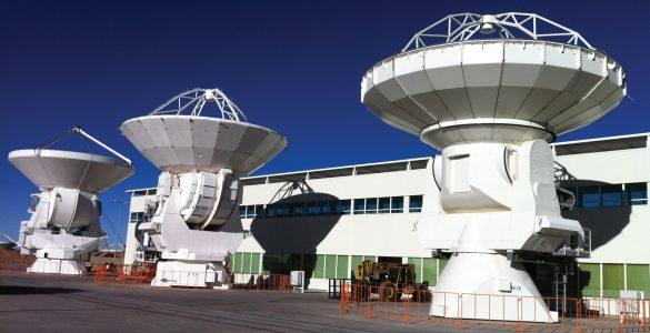 The testing area telescopes of ALMA's OSF