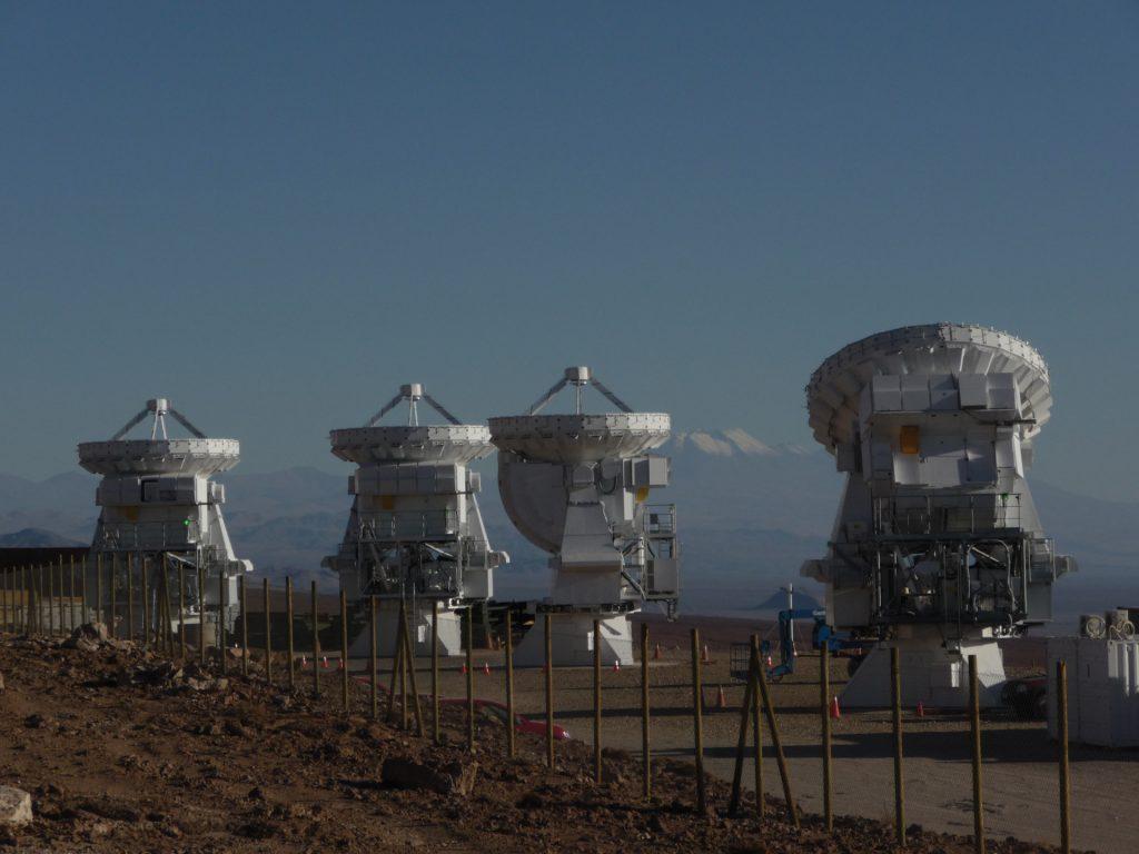 7-meter ALMA antennas