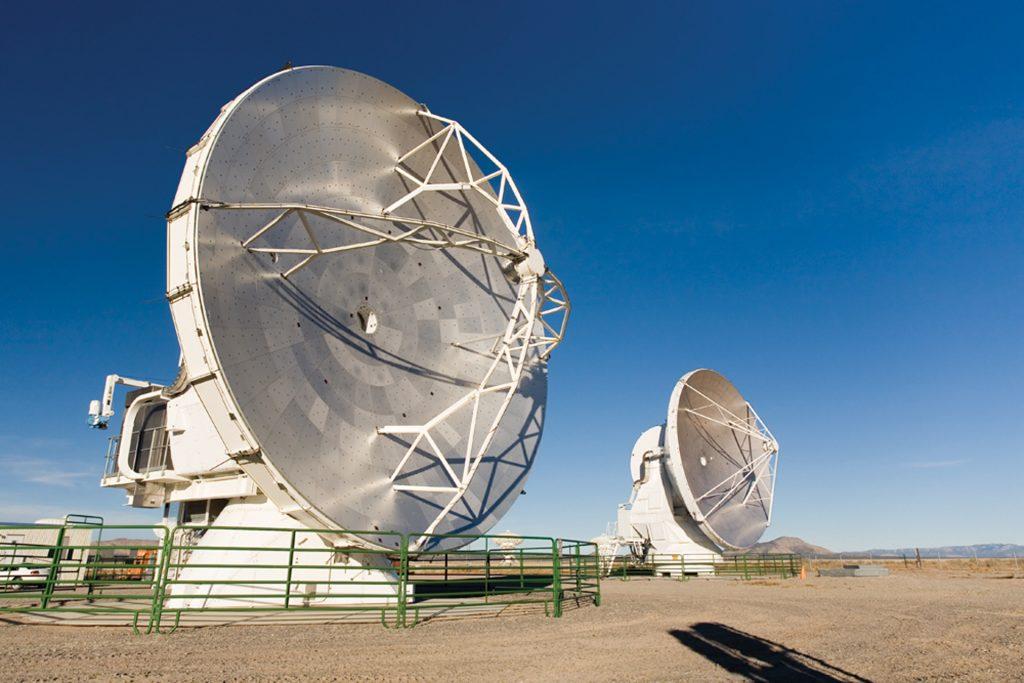 Prototype ALMA antennas