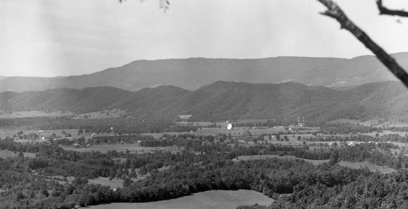 Green Bank site in 1962
