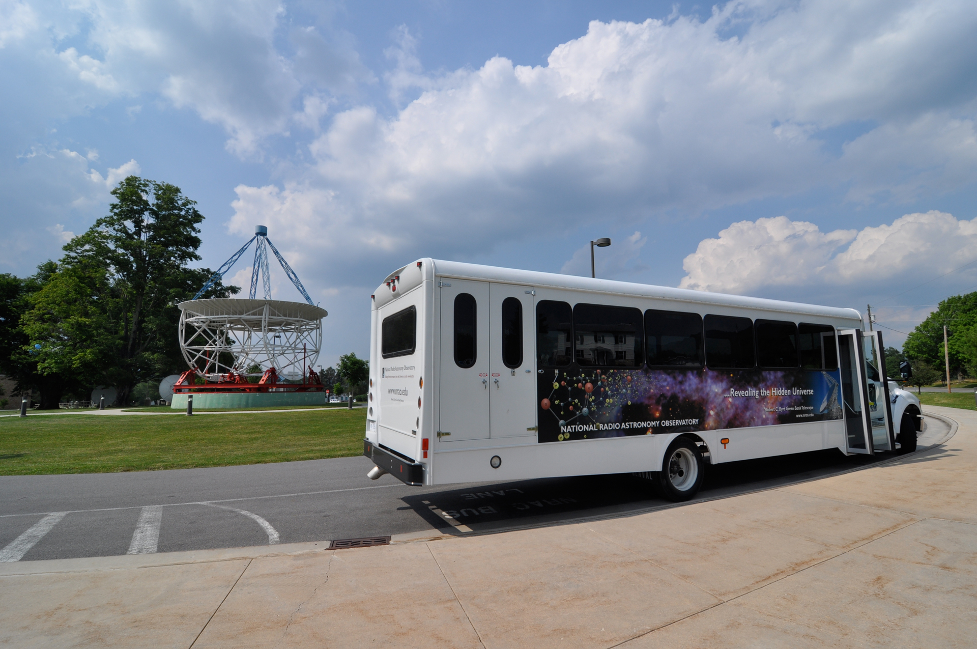 Telescope Tour Bus