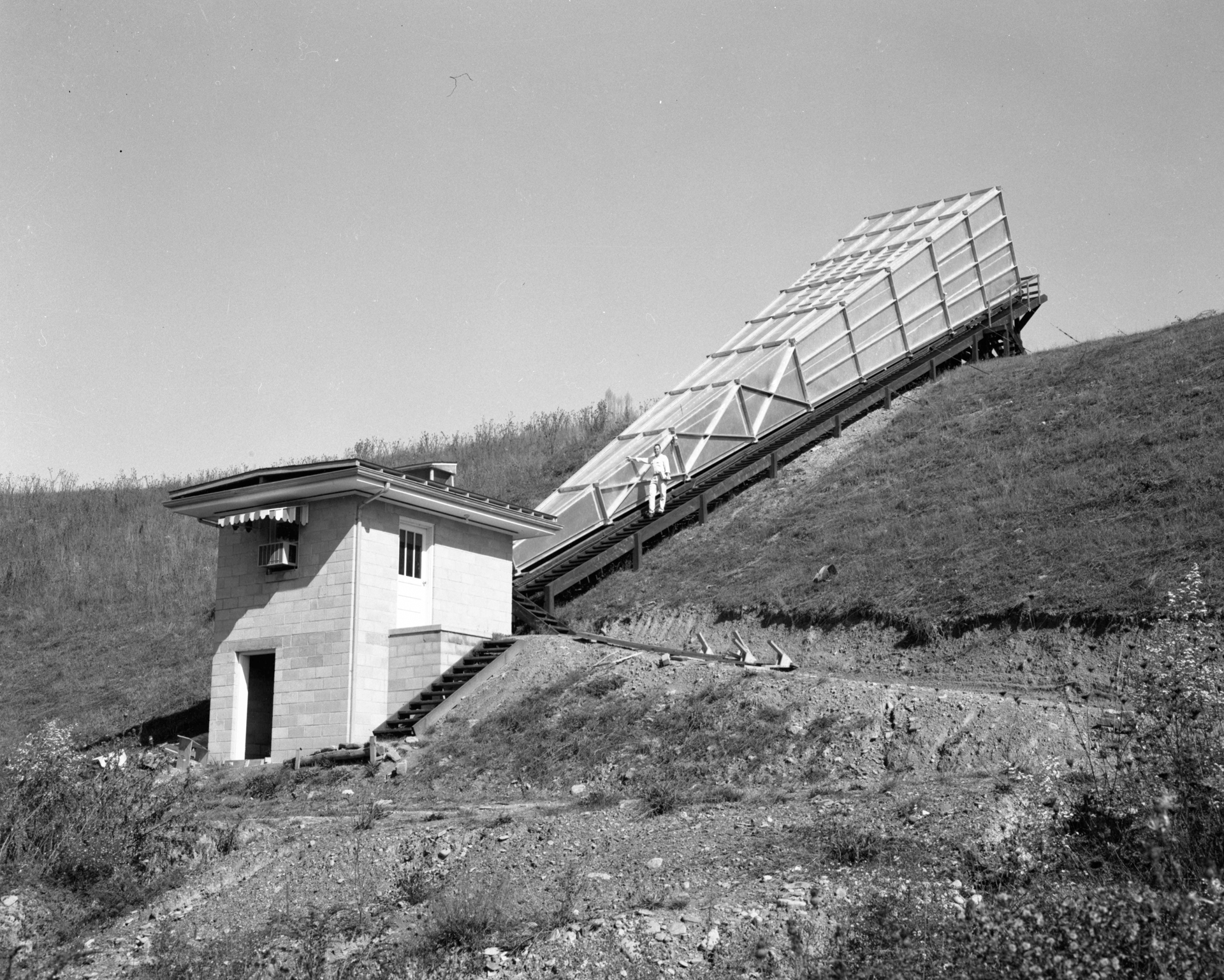 The Calibration Horn Antenna at Green Bank in 1967