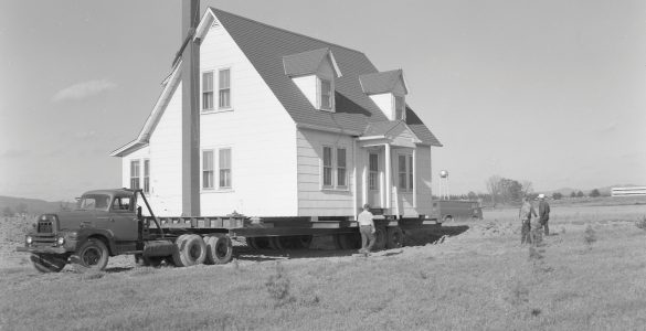 House being relocated