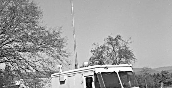 The RFI van in Green Bank