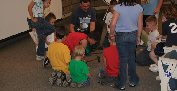 Hands-on Fun at the Green Bank Science Center