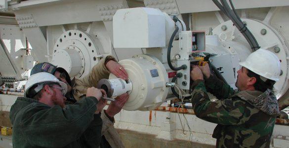 Motor Maintenance at the GBT