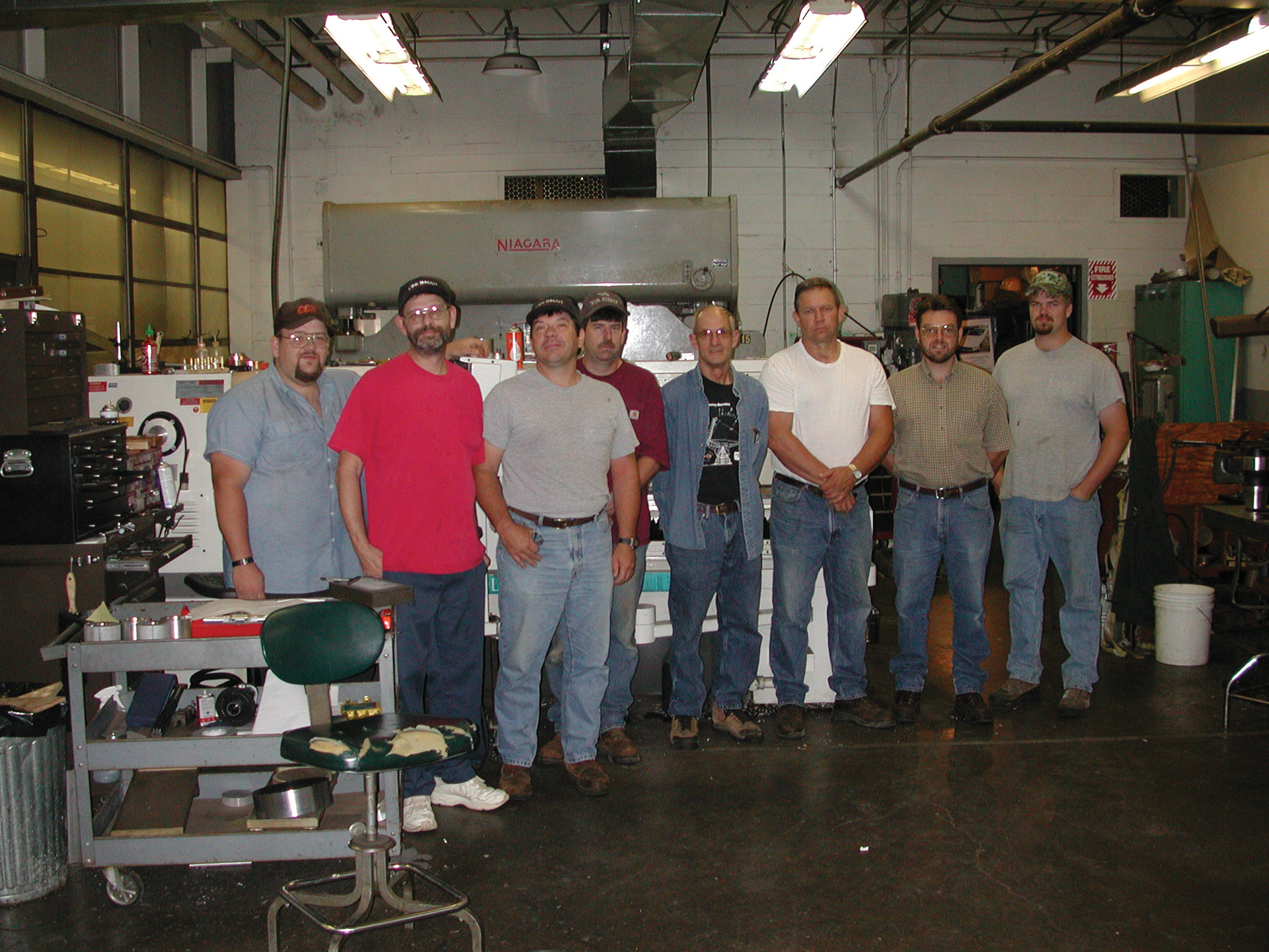 Green Bank Machinists