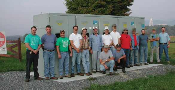 Maintenance Team in Green Bank