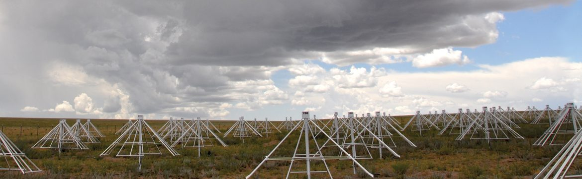 Aerial Shot of the Long Wavelength Array