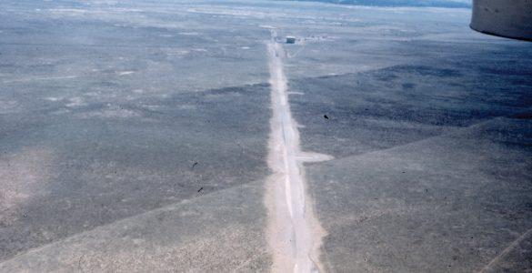 Plains of San Agustin before VLA tracks were installed