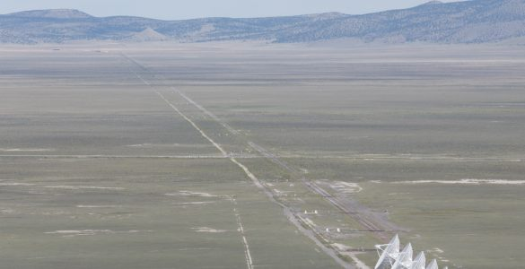 The VLA and ALMA prototype antennas