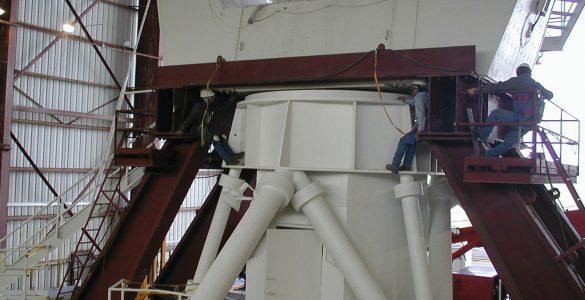 Splitting a VLA Antenna in Half