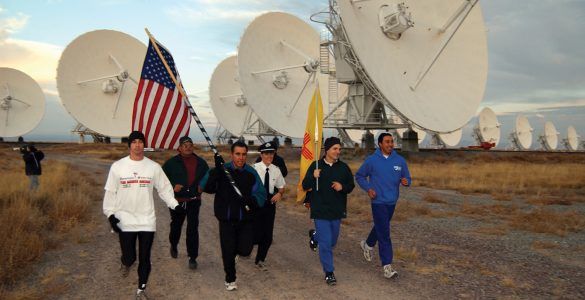 9-11 Flag Run at the VLA