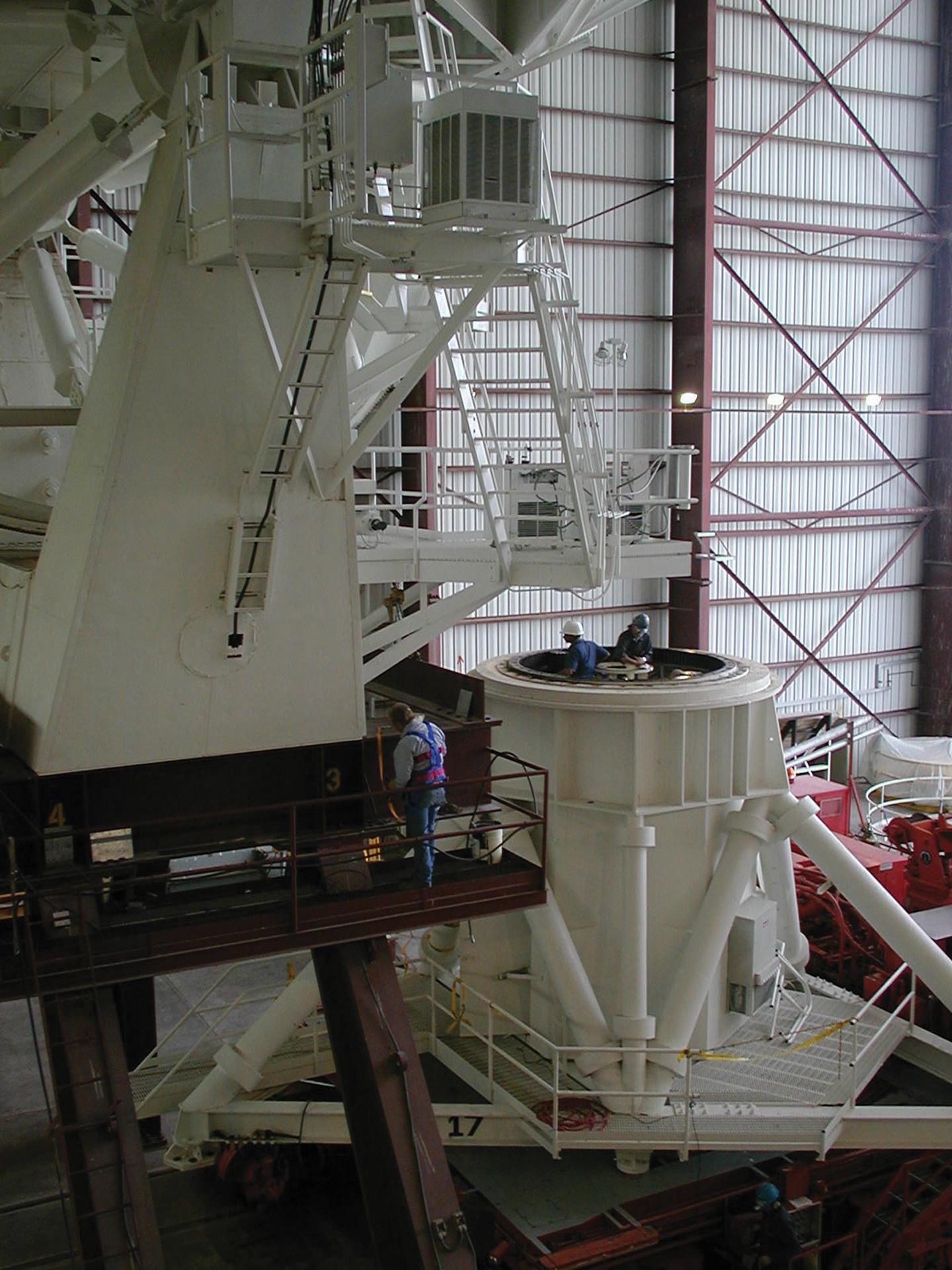 VLA antenna azimuth bearing