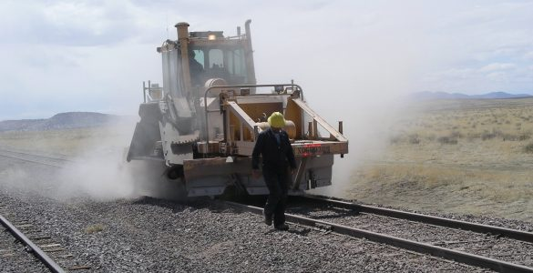 Train skills required for laying the VLA tracks