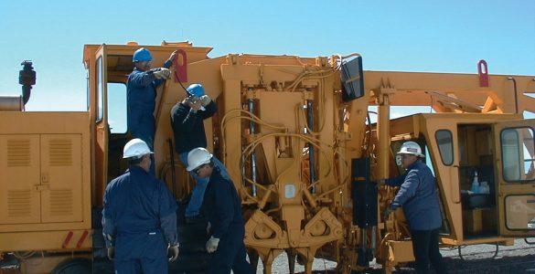 VLA Rail Team keeps tracks in operation