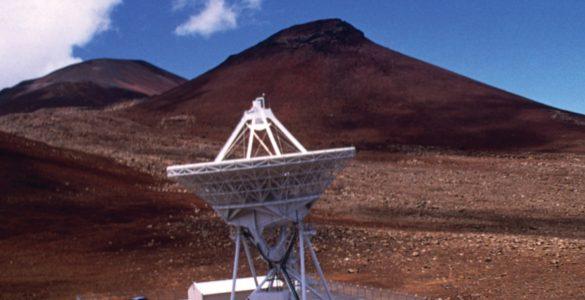 VLBA Antenna on top of Mauna Kea