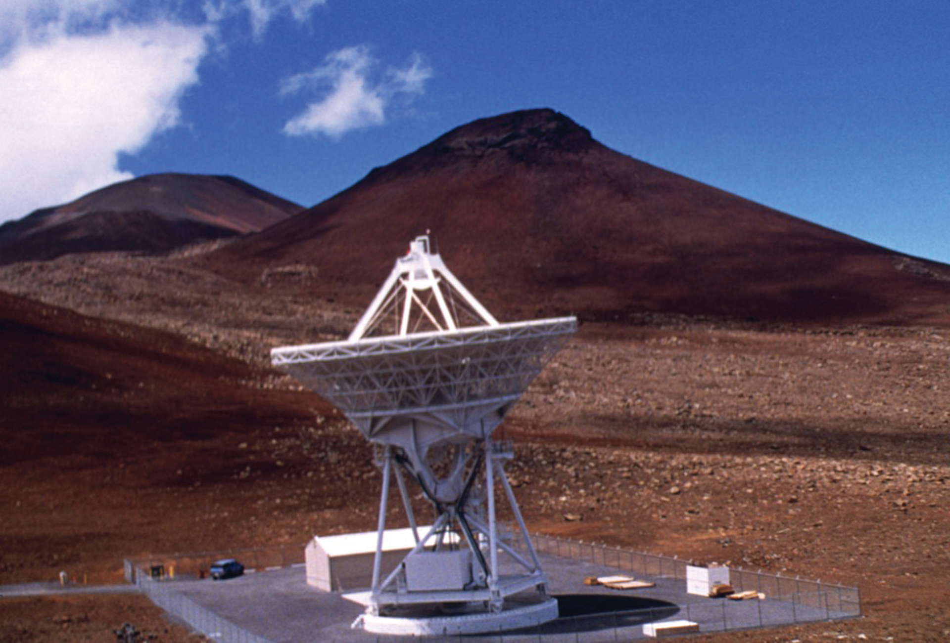 VLBA Antenna on top of Mauna Kea