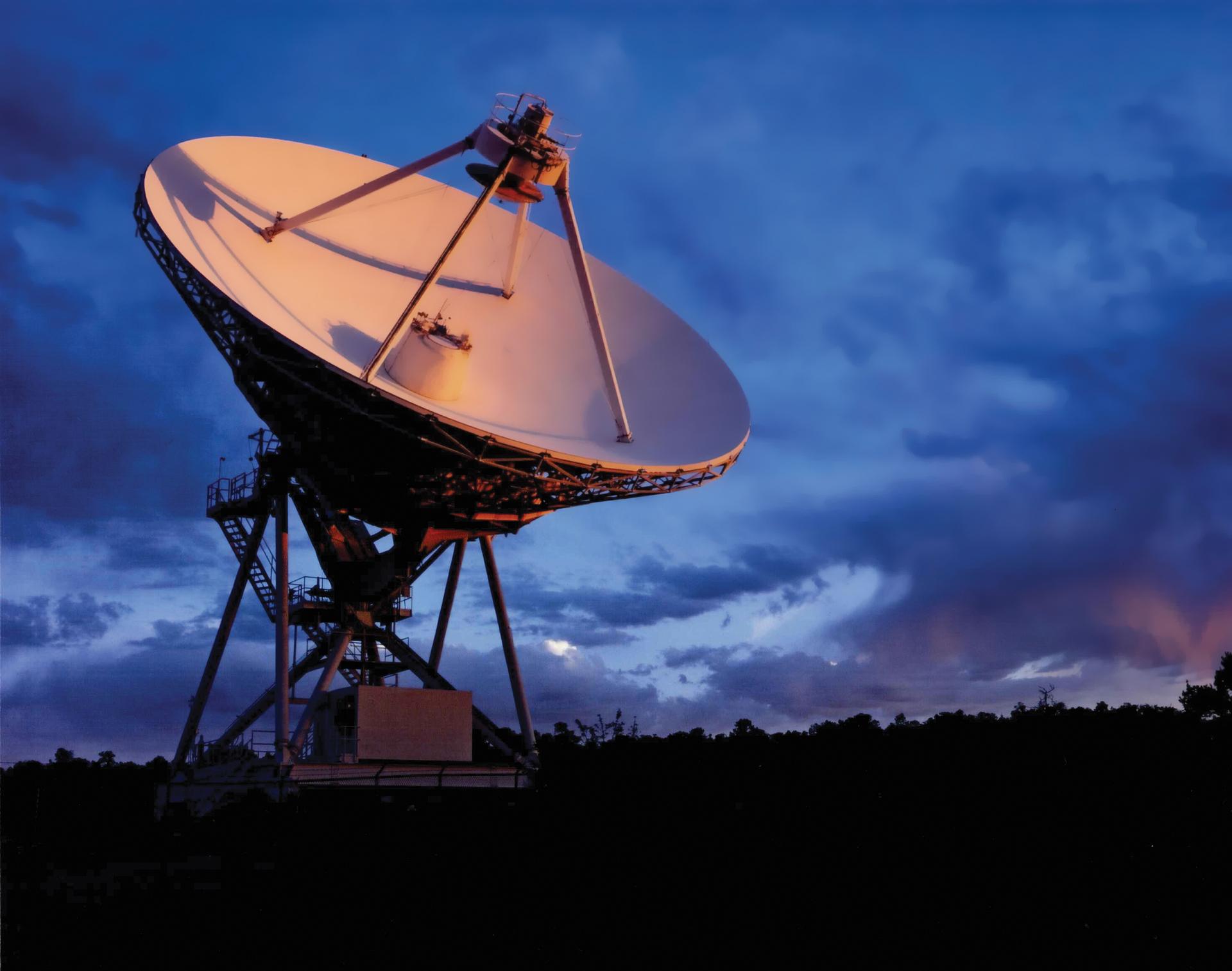 A VLBA station