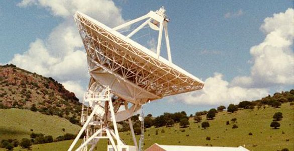 VLBA station in Fort Davis, Texas