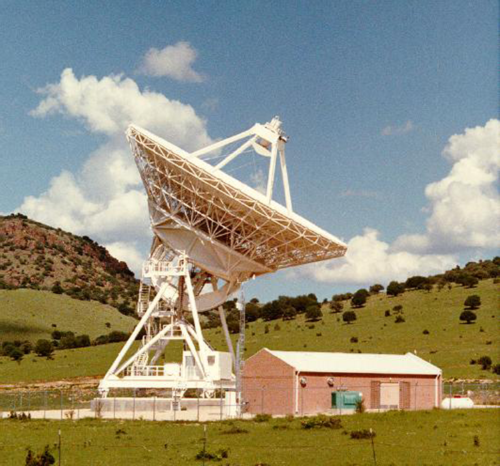 VLBA station in Fort Davis, Texas