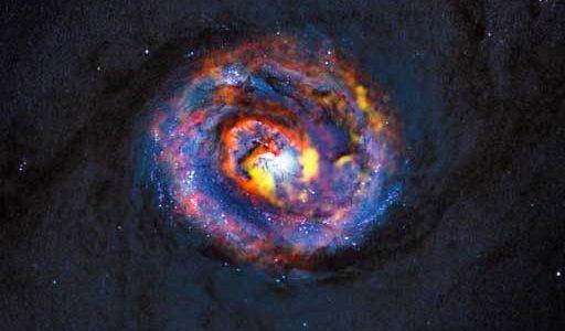 Nearby galaxy NGC 1433