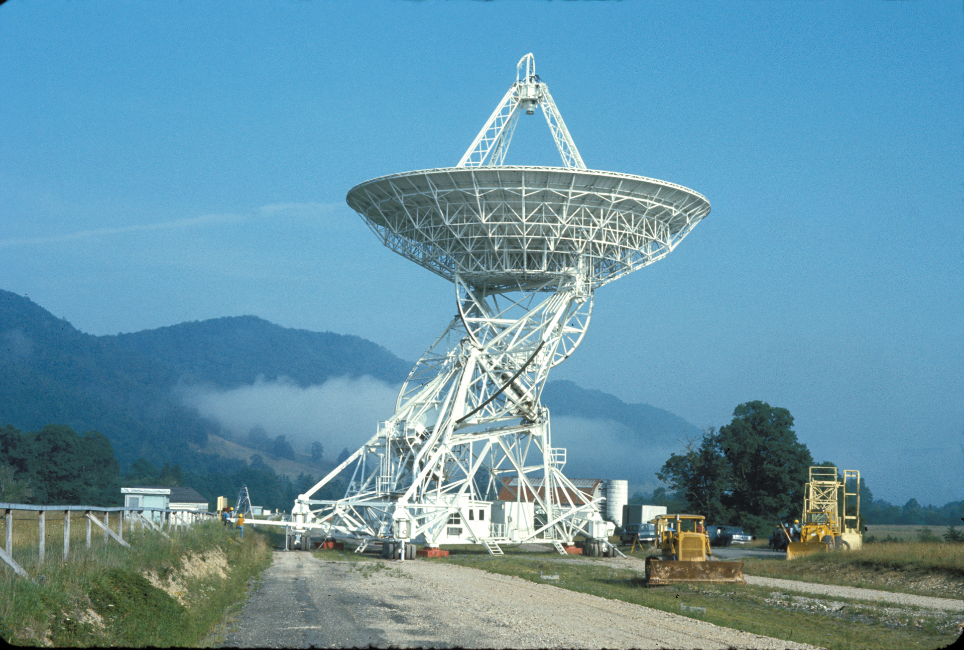 The second 85-foot telescope of Green Bank Observatory