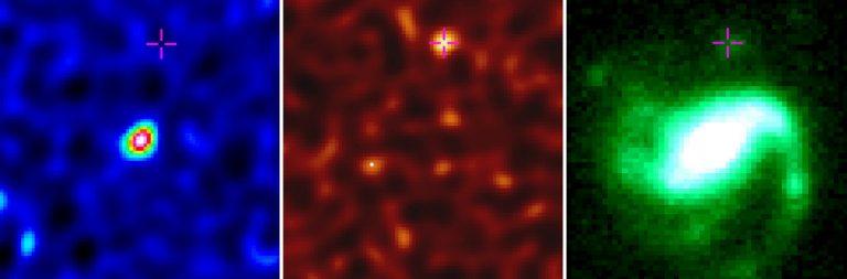 Observed GRB 020819B host galaxy