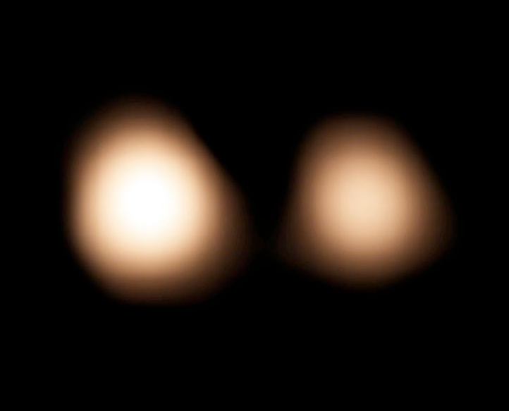 ALMA observation of Pluto and Charon