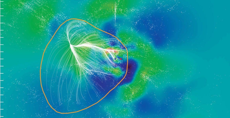 Slice of the Laniakea Supercluster